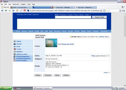 Myspace Suicide: Stingray