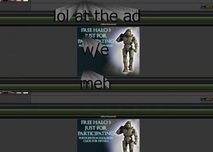 False Halo 3 Ad