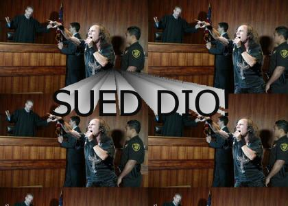 Ronnie James Dio Goes to Court