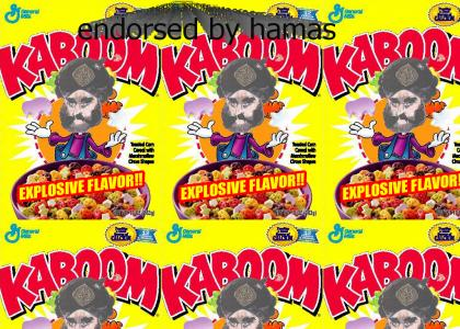 Cereal for suicide bombers!! (new image)
