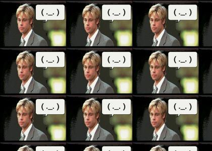 Brad Pitt Is Ended