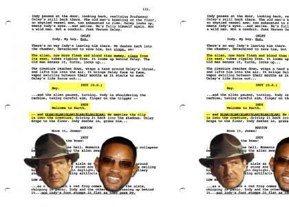 Indiana Jones 4 Alternate Ending (real!)