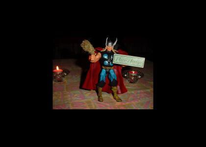 Thor takes a hit