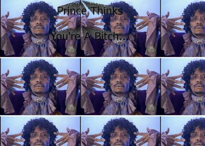 Prince Thinks You're A Bitch