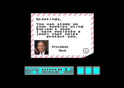 Bush sends out the economic stimulus package