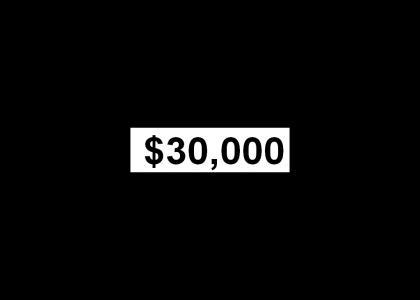 $30,000 (Test Site)