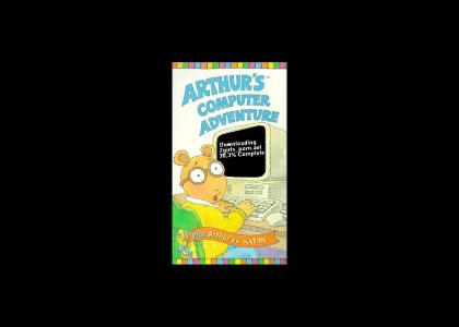 Arthur has dial-up internet