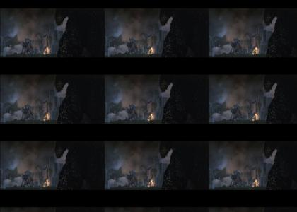 Godzilla ends G.I.N.O Godzilla