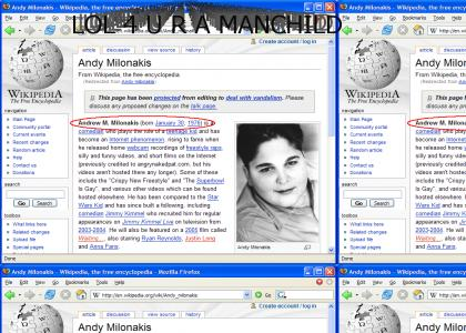 andy milonakis is a fat, unfunny, mole-covered, 29 year old manchild
