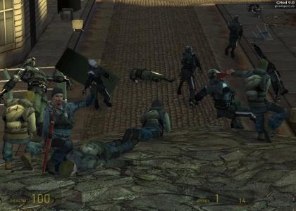 The IRA take HL2