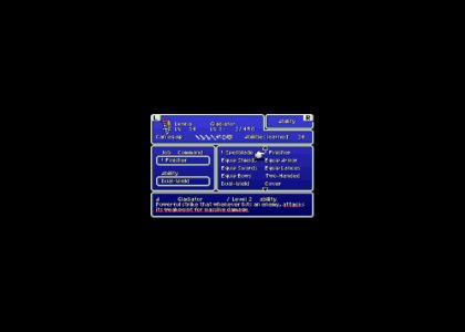 Final Fantasy Recognizes Genji 2