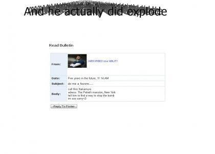 !SPOILER!Peter Petrelli myspace suicide