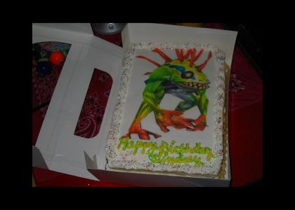 Murlock Cake