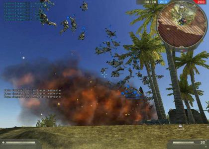 Battlefield 2 at it's finest.
