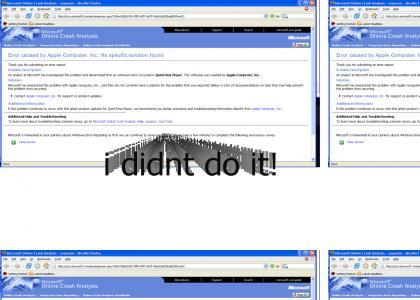 microsoft didnt do it! lol