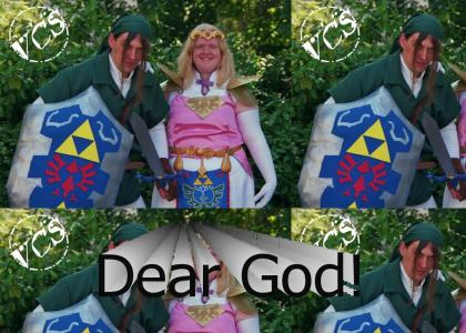 Link And Princess Zelda Live!!!!111