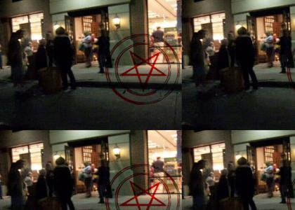Potter bookstore crash secret messages!