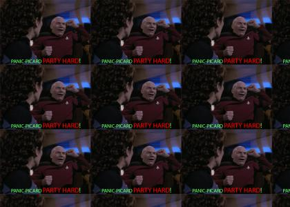 Picard Likes to Party Hard