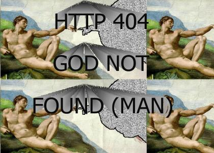 404: God Not Found (Man)