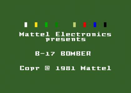 Mattel Electronics presents B-17 BOMBER