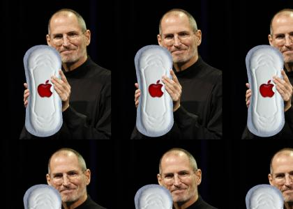 Steve Jobs Debuts the iPAD MAXI