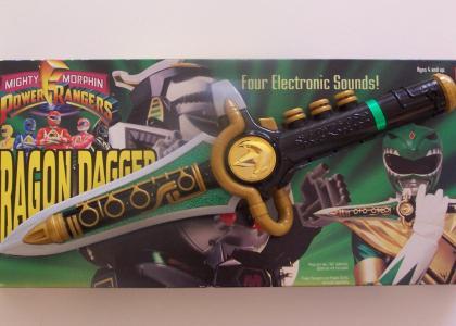 Green Ranger Dagger Flute