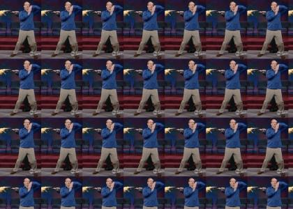 Colin Mochrie's Tribal Dance