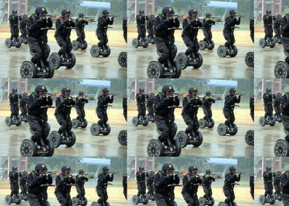Chinese Segway Commandos!