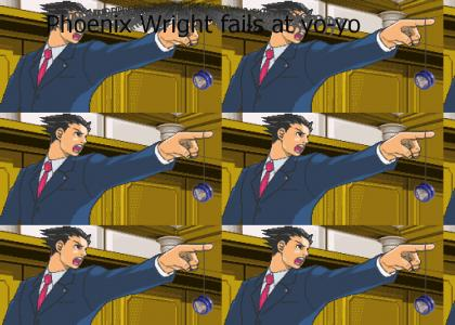 Phoenix Wright fails at yo-yo