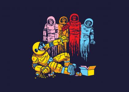 Don't do drugs in space! PLEASE!