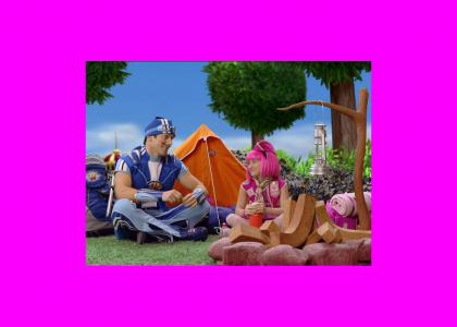 Sportacus and Stephanie Discuss Serious Issues