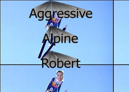 Aggressive Alpine Skiing
