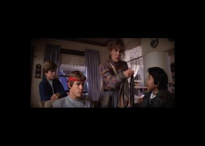 Goonies: Chunk is busted!