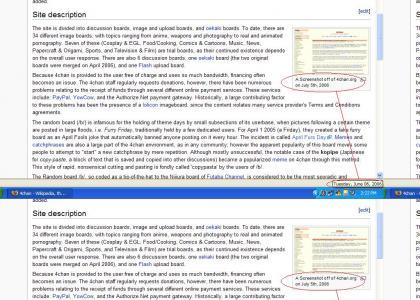 Wikipedia Predict's 4chan's Future