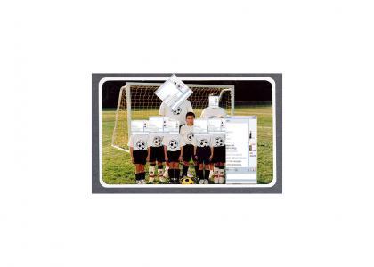 Gabbly Soccer Team 2007