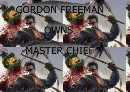 GORDON FREEMAN OWNS MASTER CHIEF