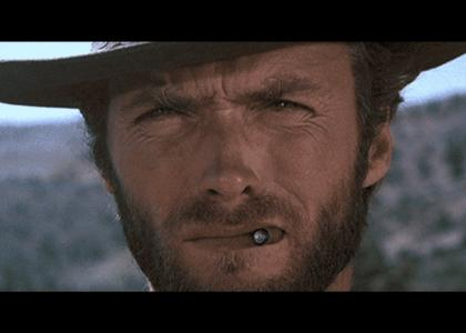 Clint Eastwood, Lee Van Cleef & Eli Wallach... stare into your soul