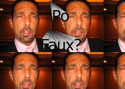 Rich Vos made a po faux