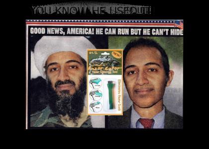 Osama Bin Laden promotes Razor Gator