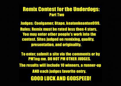 Underdog Remix Contest #2