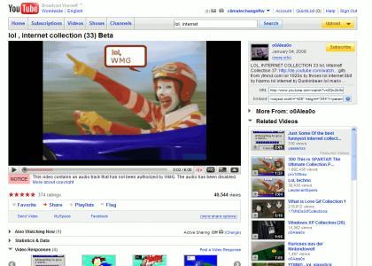 lol, youtube