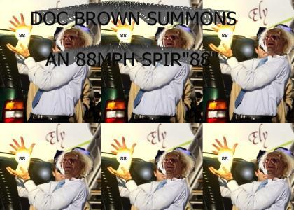 88TMND: Doc Brown Summons An 88mph Spir88