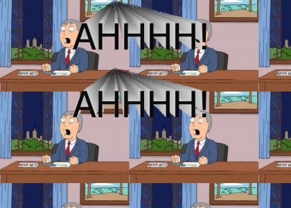 Mayor Adam West vs. Quahog: Shouting Match