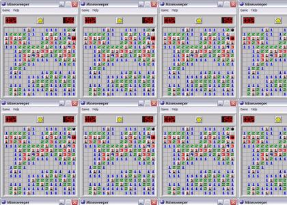 You fail at minesweeper