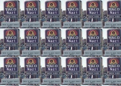 nazi taco weird