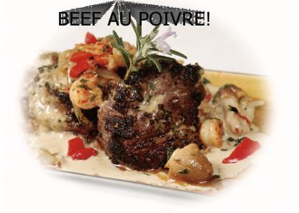 Beef Au Poivre
