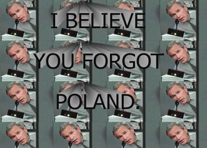 I Believe You Forgot Poland
