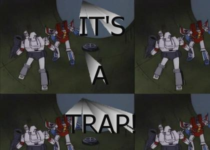 Megatron: It's a Trap!