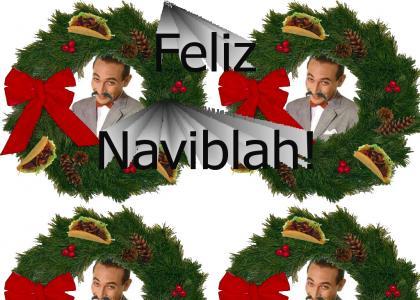 Feliz Navidad from Pee-wee