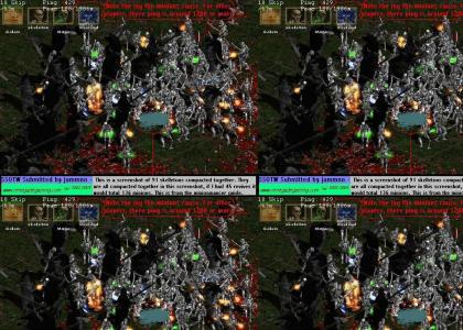Diablo II. 120 summons.